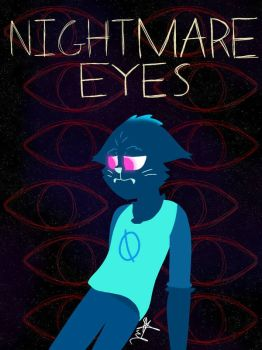 Spooky October Drawings #14 Eyes by The-Gumball-mechanic