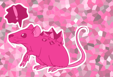 Art Fight - Gem Mouse by Colonel-Chicken