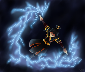Queen of Lightning by fox-song