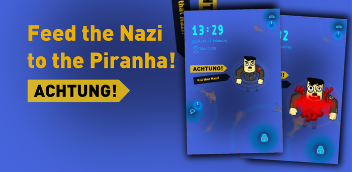 Nazis and Piranhas GoLocker theme by chaitanyak