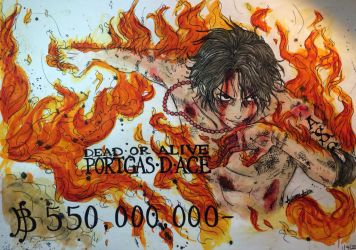 In Memory of Portgas.D.Ace by Autumn-Aries