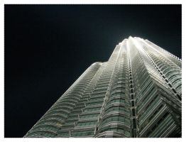 twin tower by invisibletoad