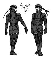 MGS - PW sneaking suit by FerioWind