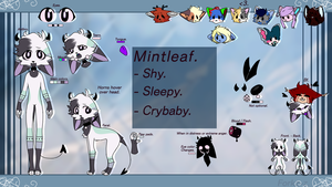 MintLeaf Reference // Second Sona. by TeaBulb