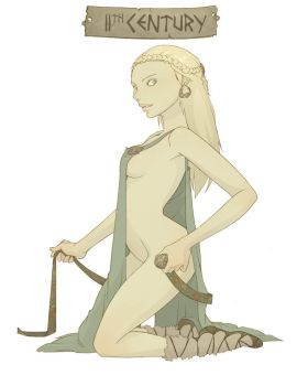 11th Century Pin Up by FindChaos