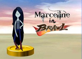 Marceline joins the Brawl by rabbidlover01