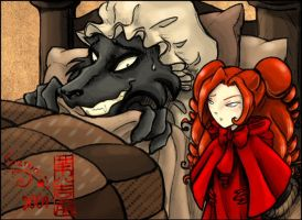 Little Red ridding hood by giz-art