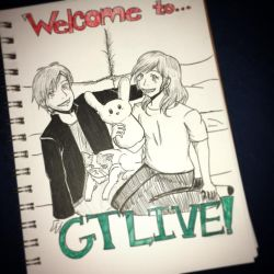 Welcome...to GTLive! || Inktober Day 30 by art-iz4ever