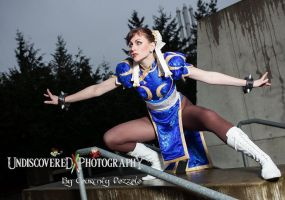 Chun Li: Ready to Rumble! by MaryjaneDesignStudio