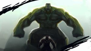 Hulk Smash Metal Man by morganagod