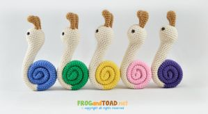 DAILY DEVIATION - Snails March by FROG-and-TOAD