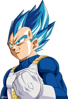 vegeta ssj blue full power render by naironkr