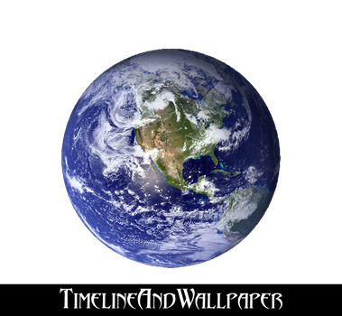 Earth 1 PNG by TimelineAndWallpaper