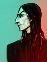 20 years of Snape by Vizen