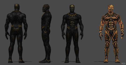 Killmonger (Black Panther Movie) - FF by SSingh511