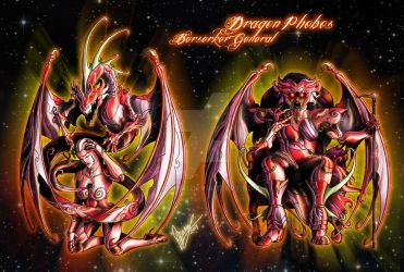 Dragon Phobos, the Fear by Sekishiki