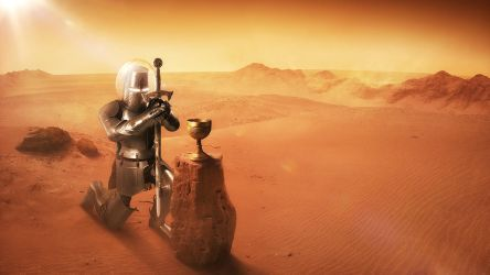Holy Grail found on Mars! by gyaban