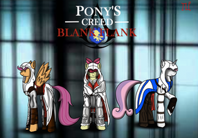 Pony's creed Blank Flank by Lucandreus