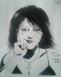 Death Sandman Sketch by kewber