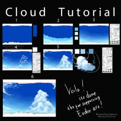 How to I make A Cloud ^^ by Closz
