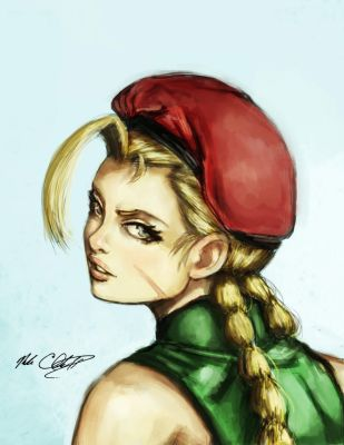 Cammy painting by Mark-Clark-II