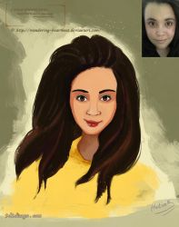 cartoon-Character-portrait-commission series 3 by eydii