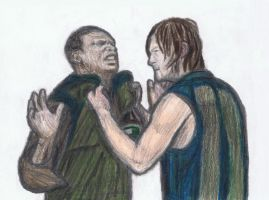 Furious Daryl by gagambo