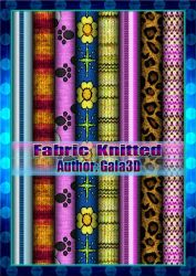 Texture Fabric knitted by Gala3d