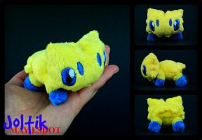Lifesize Handmade Pokemon Joltik Plush