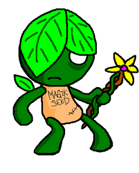 Plant Fayrie by Epic-Dude
