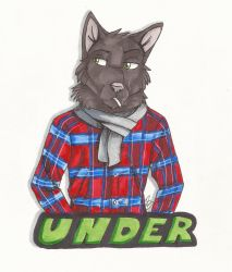 Under Badge by HowlingWolfSong