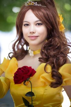 :. Beauty and The Beast - Belle .: by EscapedAngel