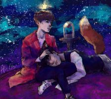 the little prince and his fox by Yuuhishiro