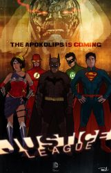 Justice League by tsbranch