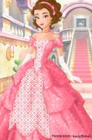 Belle deluxe gown by LadyAmber