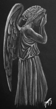 Weeping angel II by Jangsara