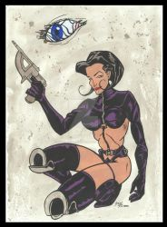 Aeon Flux by sevenpercentsolution