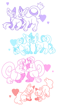 Valentine S Day Ych Auction Closed By Applerat On Deviantart