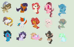 Cheap Foal Adopts (Open) by StirCrazyArtist4298