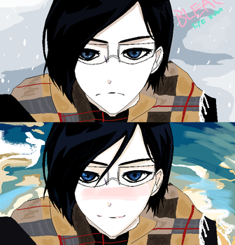 Ishida In Strange Weather. by bubbamax1990