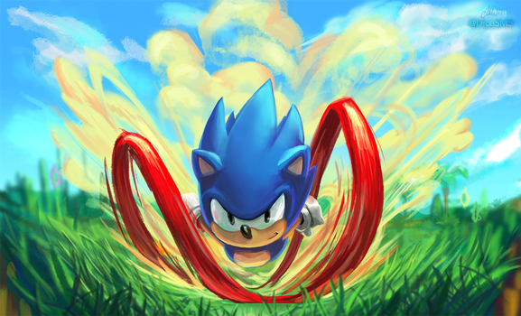 Sonic Mania by Dice9633
