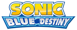 Sonic Blue Destiny logo by Sonicguru
