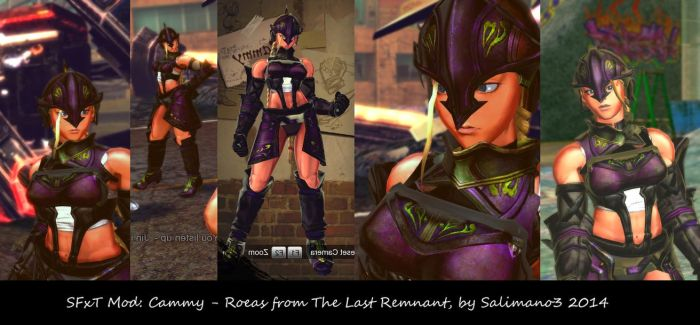 SFxT Mod: Cammy - Roeas from The Last Remnant by repinscourge