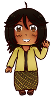 [HETAOC] Chibi Indonesia 4vol attempt by melondramatics