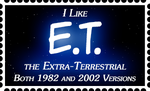 ET Fan Stamp by RetroUniverseArt
