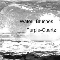 Water Brushes by Purple-Quartz-Brush