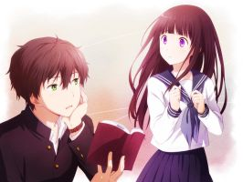 Hyouka - Anyone Who Knows by Arya032