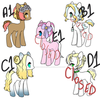 Breeding Chart Group 1 by zombiegoddess666