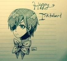 .:*Happy Inktober*:. by SaraDere
