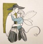 Peace Master and his daugter by Uncle-Leik